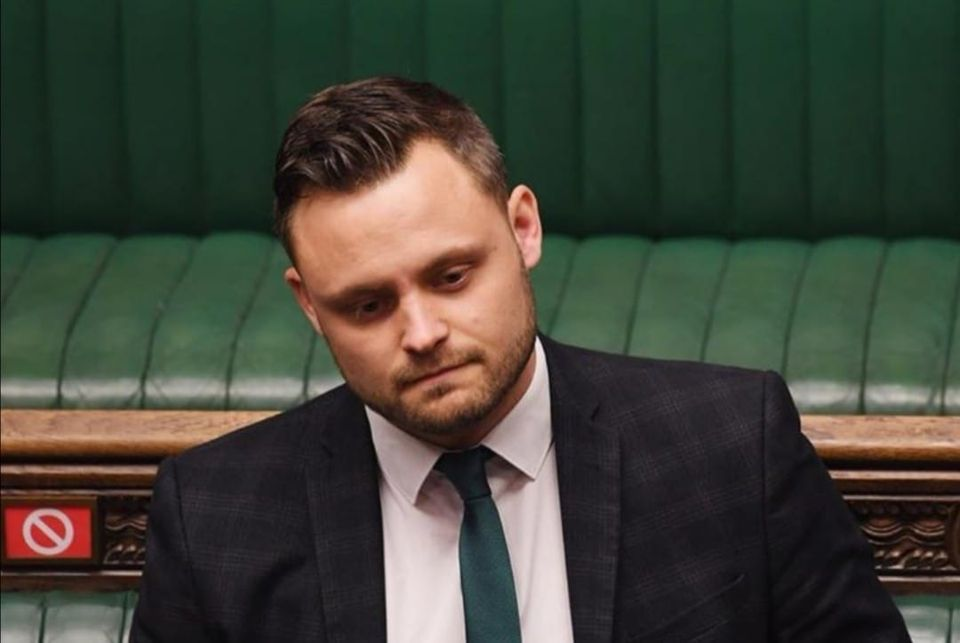 Photo of Ben Bradley in the House of Commons Chamber